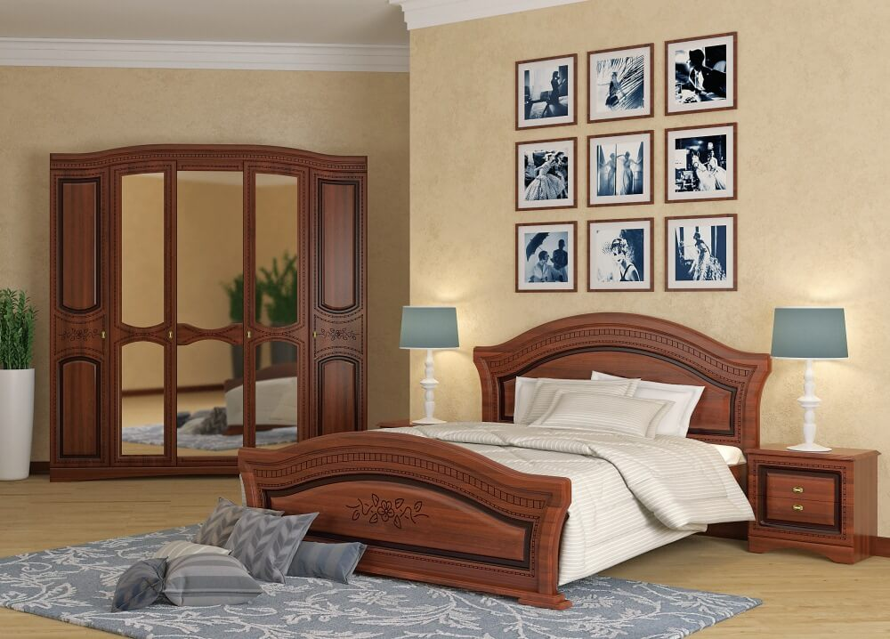 Guļamistabas kolekcija SKVL