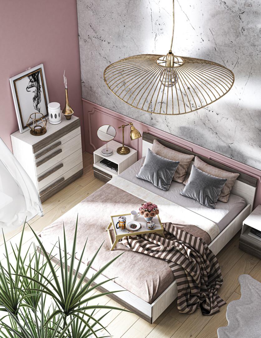 Guļamistabas kolekcija MDBL